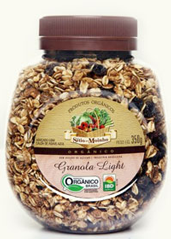 Granola Light com Calda de Agave Azul Orgânico do Sítio do Moinho