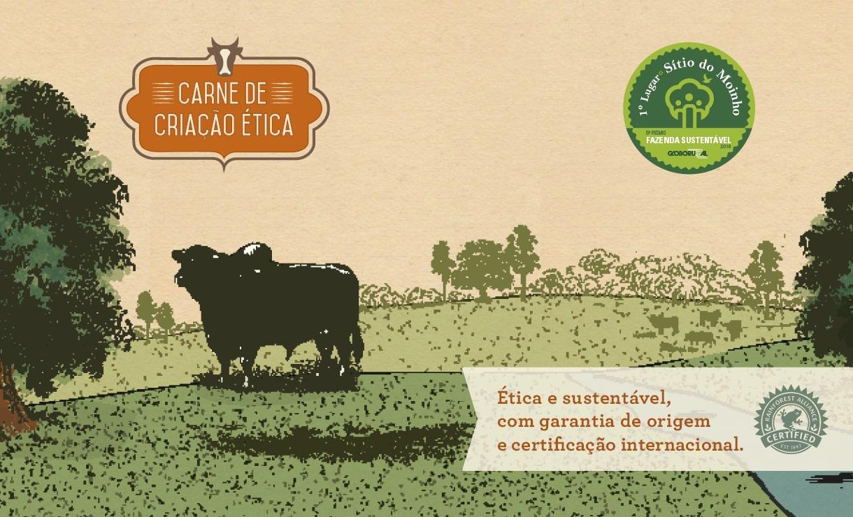 Carne Orgânica  - Criação Ética