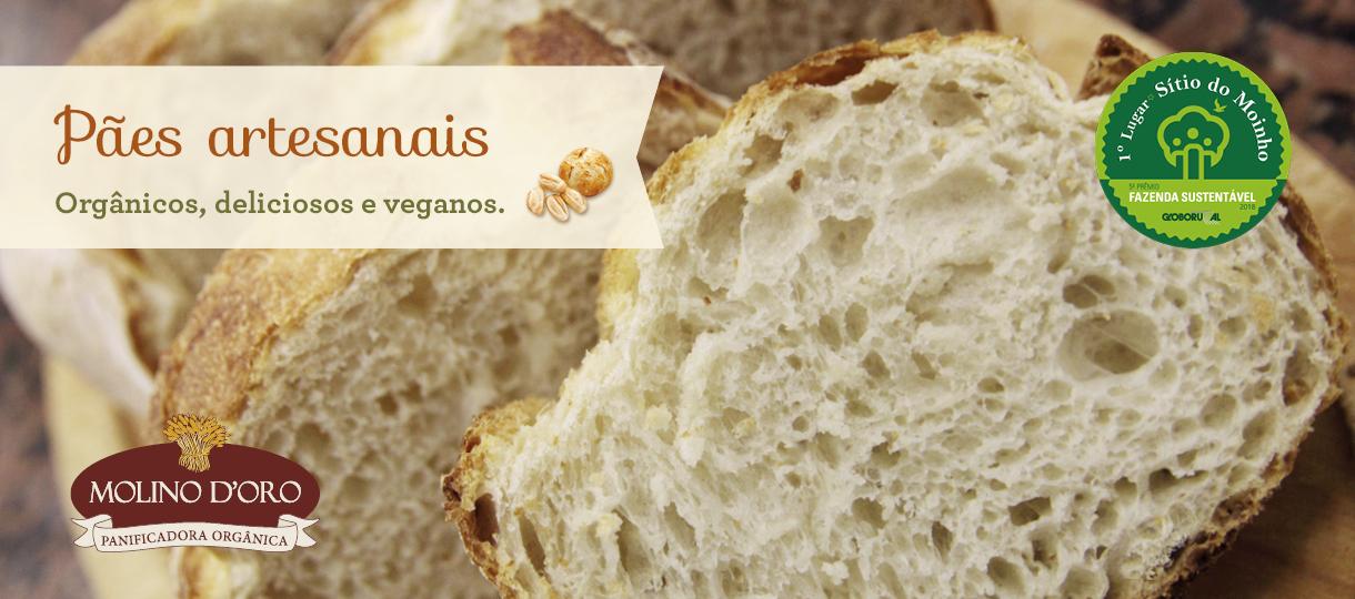 Pães Orgânicos - Molino D'Oro